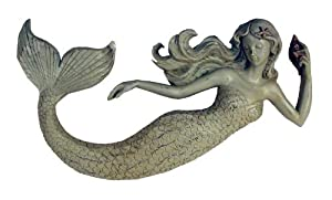 Ohio Wholesale Sea Beauty Mermaid Wall Art, from our Cats and Dogs Collection by Ohio Wholesale, Inc
