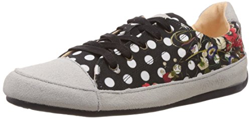 Desigual SHOES TOPOS, Low-Top Sneaker donna, Nero (Schwarz (2000)), 36