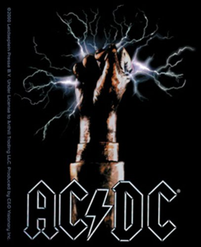 Licenses Products AC/DC Fist Sticker - 1