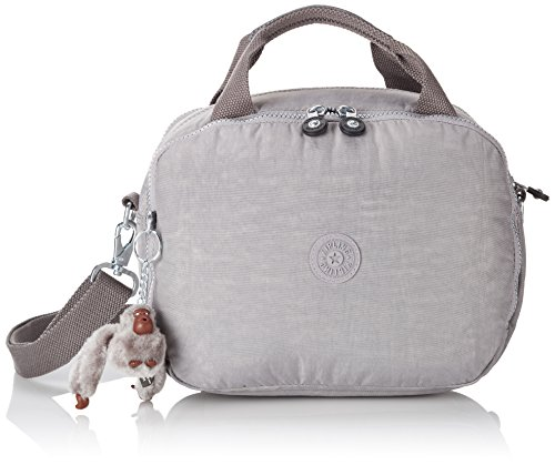 Kipling K1386085W Beauty Case, 23 cm, Nylon, Grigio