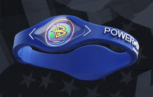 Original Power Balance Silicone Bracelet Navy