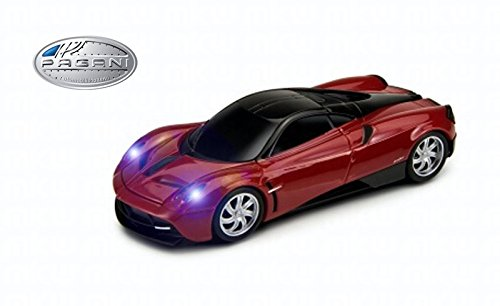 pagani-huayra-official-wireless-mouse-red