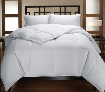 Multiple Sizes - Down Alternative Reversible Comforter White On White - King/California King - Exclusively By Blowout Bedding Rn #142035