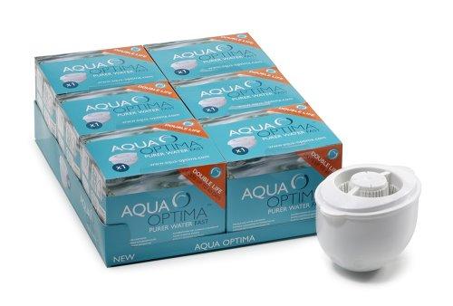 Aqua Optima 60-Day Double Life Filter 6-Pack