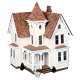 Greenleaf Fairfield Dollhouse Kit - 1/2 Inch Scale
