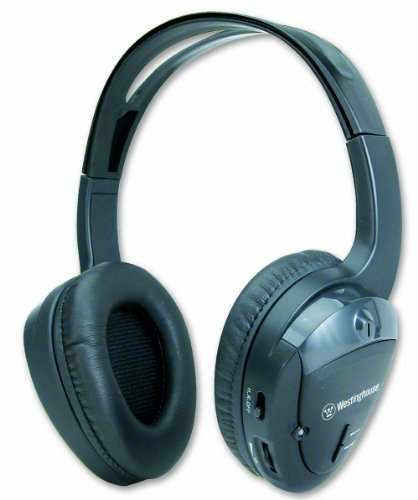 Westinghouse Weswh930Gbht Wireless Headphones With Built-In Fm Radio