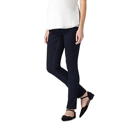 Red Herring Maternity Womens Blue Skinny Leg Maternity Jeans