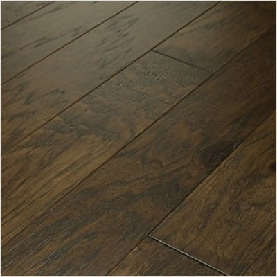 "Brushed Suede 4.5"" Engineered Hardwood Hickory in Olive Branch"