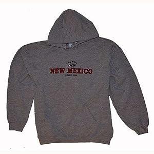 New Mexico Lobos Hooded Sweatshirt - Heather by SportShack INC