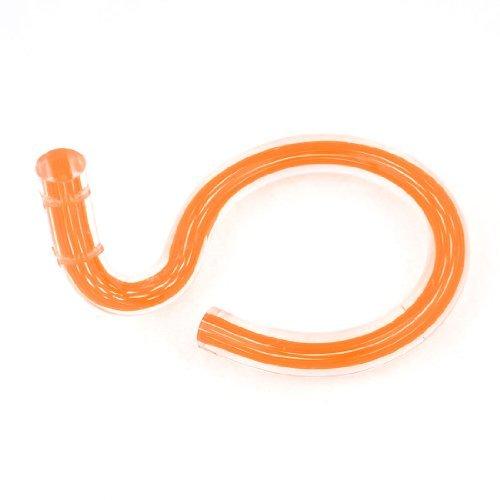ウォールオレンジPMMAシングルコイルリングヘアドライヤースタンドホルダーブラケットを取り付けます