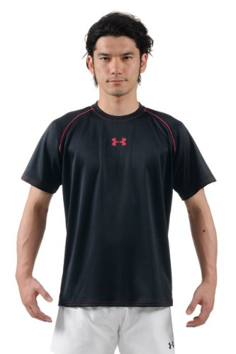 (Under armour) UNDER ARMOUR UA Rugby 3D practices SS shirt MRG7413 BLK 3XL