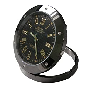 High Definition Spy Table Clock Security Video Camera Webcam DVR Hidden Detection