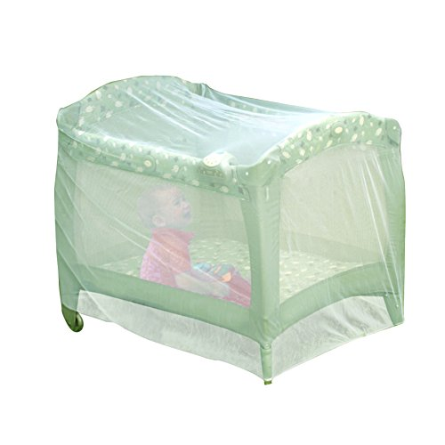 Nuby Baby Playpen Netting, Universal Size, White, Pack N Play Mosquito Net Tent, Play Yard Kid Insect Mesh Cover (Pack N Play Netting compare prices)