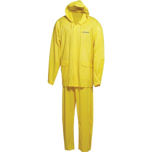 Onyx-Arctic Shield-X-System Men'S Adult Pvc Rainsuit (Yellow, Large/Chest: 42-44-Inch /Waist: 34-36-Inch /Inseam: 31-Inch) front-735230