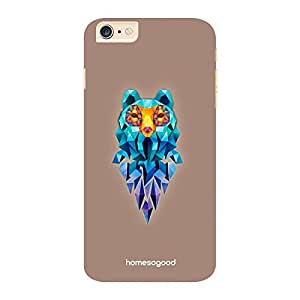 HomeSoGood The Crystal Fox Brown 3D Mobile Case For iPhone 6 Plus (Back Cover)