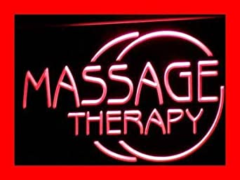 Enseigne Lumineuse i315-r Massage Therapy Body OPEN NEW Neon Light Sign