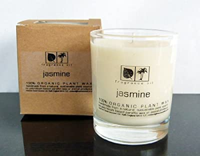 Heaven Scent Aromapot Scented Candle In Glass - Jasmine by Heaven Scent