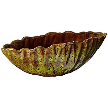 Privilege International 78045 Ceramic Bowl with Folded Edge, Small