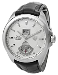 TAG Heuer Men's WAV5112.FC6225 Grand Carrera Grand Date GMT Watch