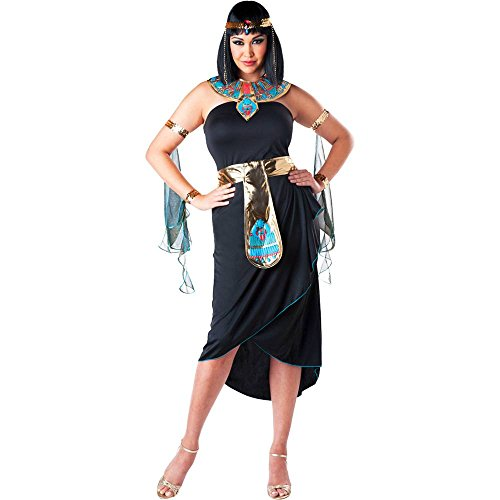 Black Cleopatra Plus Size Costume