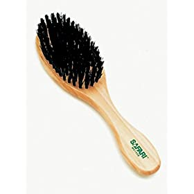 Safari Bristle Brush for Dogs with Wood Handle