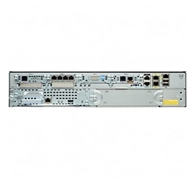 Cisco CISCO2911-HSEC+/K9 2911 VPN ISM Module HSEC Bundle - Router - GigE - rack-mountable