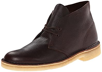 Clarks Men's Desert Chukka Boot,Brown Tumbled Leather,7 M US