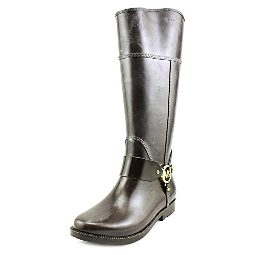 Michael Michael Kors Fulton Harness Tall Rainboot Donna US 6 Marrone