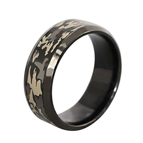 Camo Rings With Diamonds