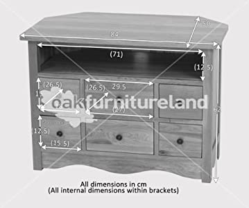 Where to buy  Cairo Natural Solid Oak TV Corner Cabinet