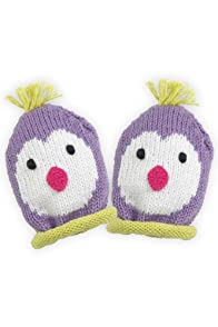 Joobles Organic Baby Mittens - Icy the Penguin