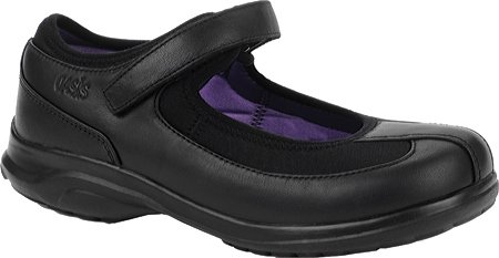Oasis Women's Lona Diabetic Shoes,Black/Purple,10 XW US (Black Oasis Shoes compare prices)