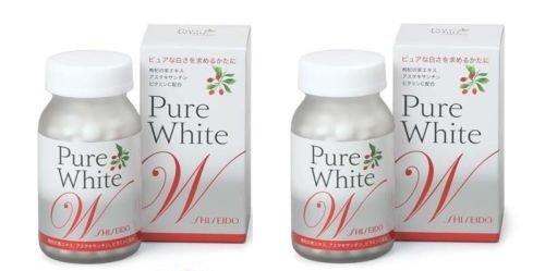 Shiseido Pure White W For Your Skin 270 Tablets 2 Bottles