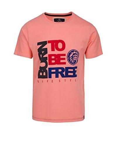 THE INDIAN FACE Camiseta Manga Corta Rosa
