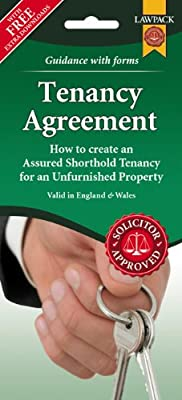 Unfurnished Tenancy Agreement Form Pack (England & wales)