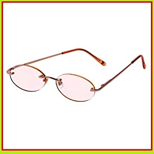 Oval 1.75 Strength Rose Rimless Reading Glasses By Foster ...