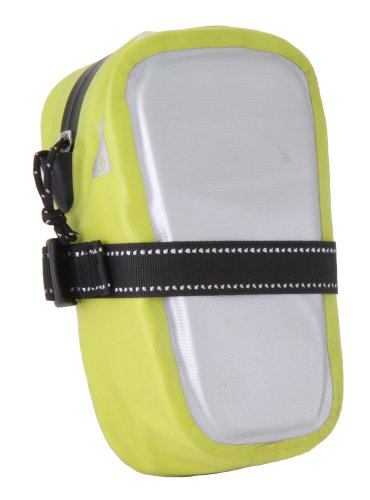 Pacific Outdoor Equipment Underseat Small Bike Pouch (High Vis/Chrome)