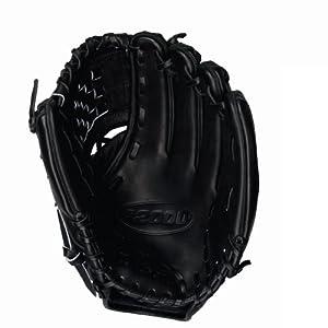 Wilson A2000 Fastpitch Model CAT Web Glove (Black, 12-Inch) by Wilson