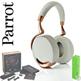 Parrot Zik Wireless Bluetooth NFC Enabled Noise Cancelling Headphones with Touch Control - (White/Rose Gold)