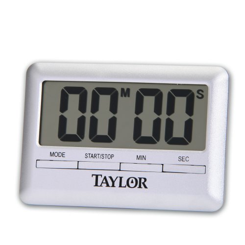 Taylor Ultra Thin Digital Timer Kitchen Cooking