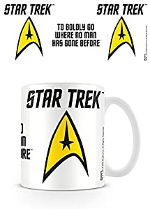 Star Trek to Boldly Go Ceramic Mug