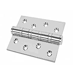 Ball Bearing Hinge 4 - 4 X 3 X 3 MM in Satin Finish