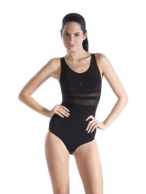 bellycloud Damen Body figurformend mit transparenten Zonen from Edmund Lutz KG
