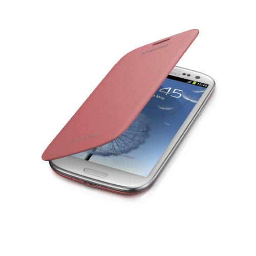 Samsung Galaxy S3 Flip Cover Case (Pink) (Samsung Galaxy S3 Red compare prices)