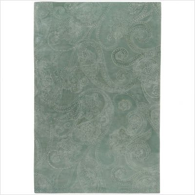 "Modern Classics Silver Sage Contemporary Rug Size: 3'3"" x 5'3"""