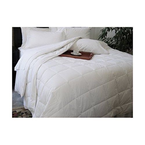 Natural Comfort Classic White Down Alternative Comforter Or Blanket Year Round Filled, Queenxl front-762101