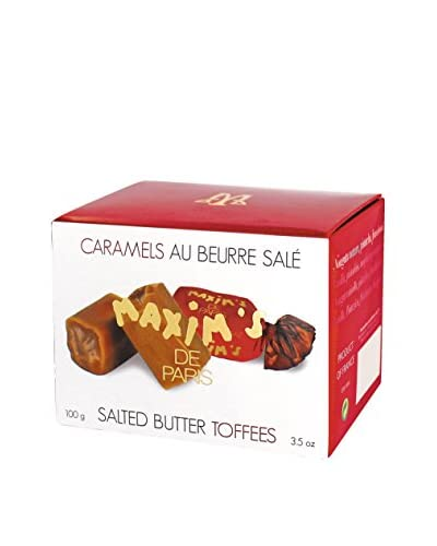 Maxim's de Paris Box of 15 Salted Butter Toffees