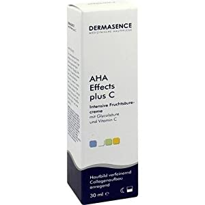 dermasence aha effects c cr me pour la peau l 39 acide de fruits beaut et parfum. Black Bedroom Furniture Sets. Home Design Ideas