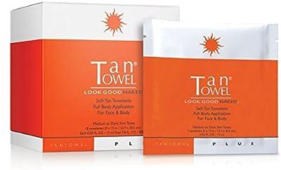 Tan Towel Plus Full Body