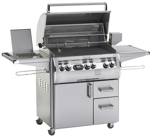 "Fire Magic Echelon Diamond E660S Stainless Steel 30"" Gas Grill With Flushmounted Single Side Burner E660Sma1P62"